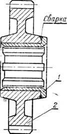 Восстановление шлицевой поверхности у шестерни