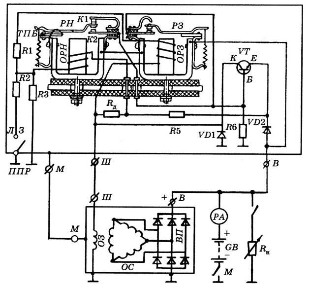 Регулятор рр362 схема