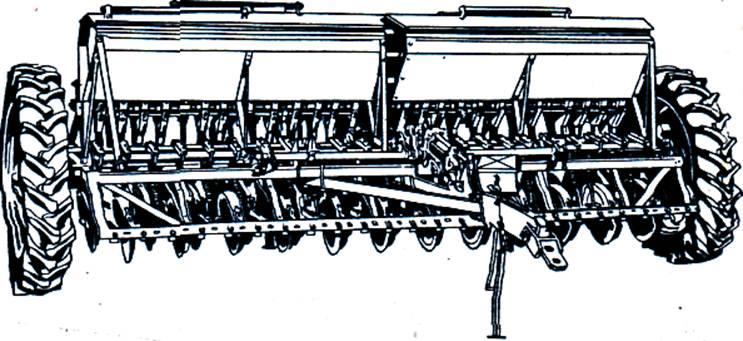 сеялка зернотукотравяная