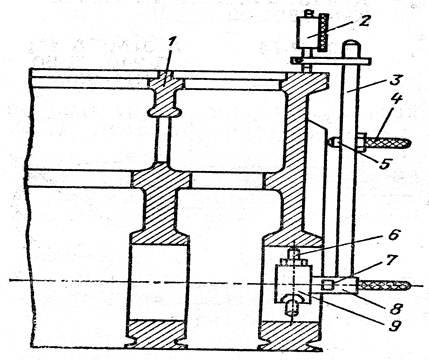 Схема устройства для контроля