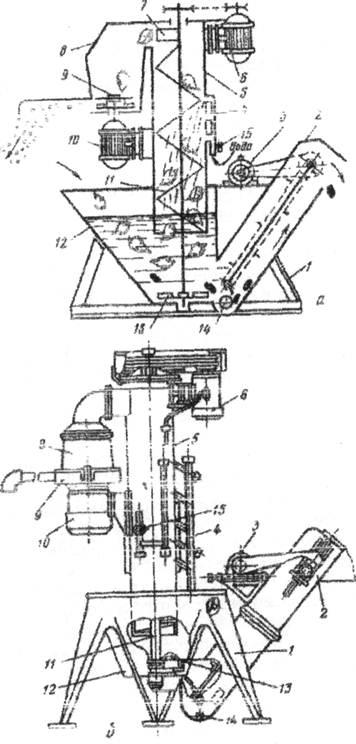 Рис 8 Схема (а) и общий вид