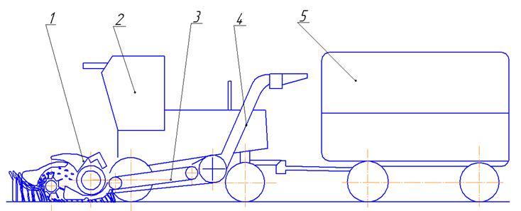 4, тракторного прицепа