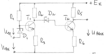 Усилитель постоянного тока схема